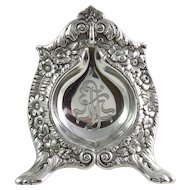 Victorian Tiffany & Co. Sterling Silver Pocket Watch Holder