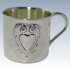 Vintage Reed & Barton Sterling Silver Baby Cup