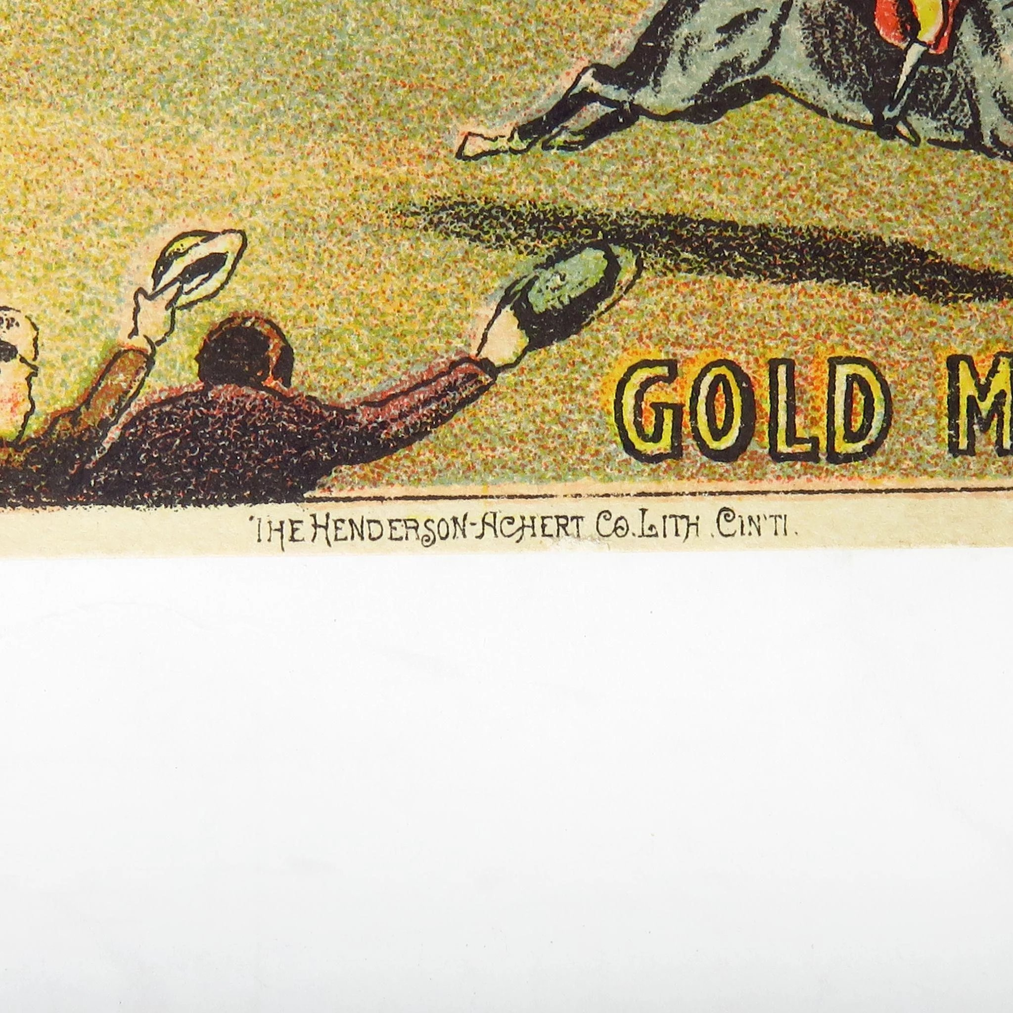 Victorian Gold Medal Coffee Trade Card