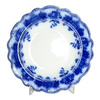 """Clarence"" Pattern Flow Blue Bowl"