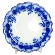 """Clarence"" Pattern Flow Blue Bowl"