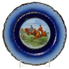 Vintage Austrian Fox Hunting Plate