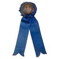 1911 Clarke County Horse Show Ribbon