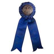 1913 Clarke County Horse Show Ribbon