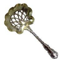 "Antique Sterling Silver ""Louis XV"" Nut Spoon"