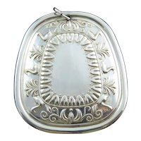 "1976 Towle Sterling Silver ""Six Geese"" Christmas Medallion"