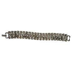 Classic Weiss Rhinestone Bracelet