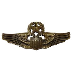 Early Vietnam Command Pilot Wings Full Size Air Force Military Collectible