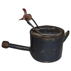 Rare WWI Trench Art Miniature Teapot Military Theater Made English