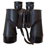 WWII US Navy Binoculars USN Nautical Military Collectible