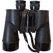 WWII US Navy Binoculars USN Nautical Military Collectible