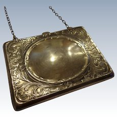 Gorgeous Art Nouveau Sterling Silver Purse by Blackinton Engravable