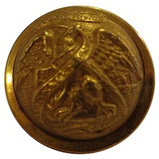 Very Nice Illinois Militia Great Coat Button Indian Wars Domed Horstmann Bros Military