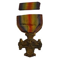 WWI State of Oregon Service Medal with Original Ribbon