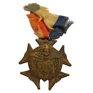 WWI Jr OUAM State Council NJ New Jersey Veteran War Service Medal Local Medals