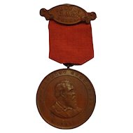 Antique GAR Medal Union Pennsylvania Post 63 Philadelphia