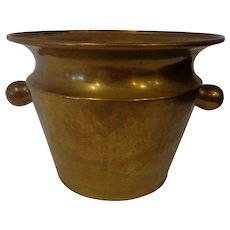 Rare Russian Antique Champagne Bucket Copper Made in Moscow
