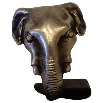 Gorgeous Vintage Sterling Elephant Ring from the Late 1960s