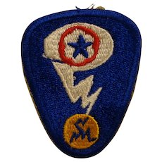 Original WWII Manhattan Project Patch Estate Find