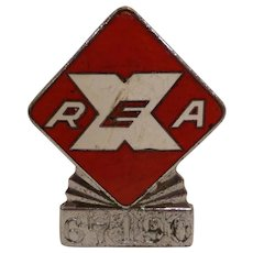 Vintage Original Railway Express Agency Hat Badge