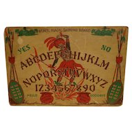 Rare Ouija Board Voodoo Witch Doctor Black Magic by Gift Craft of Chicago Game