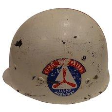 Rare 1950s Civil Air Patrol New Mexico Helmet UFO Alien