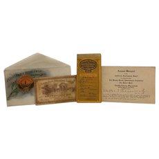 Rare California Historical Panama Pacific Exposition International 1915 San Francisco Pan Pacific Expo Grouping