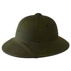 Nice WWII pith helmet US Navy jungle war Pacific campaign