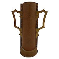 Fabulous Scandinavian Arts & Crafts Copper Vase Viking Cup