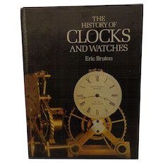 History of Clocks and Watches Book by Eric Bruton Collectors Reference