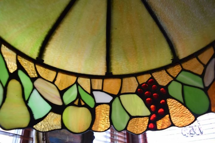 Antique Stained Glass Fruit Chandelier Designs - Antique Stained Glass Fruit Chandelier - Chandelier Designs