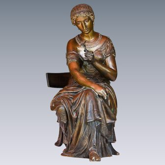 Bronze Sculpture of a Lady