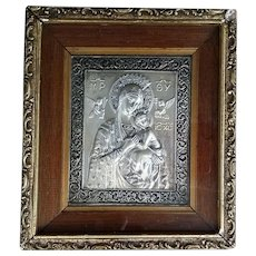 Antique Icon: Our Lady of Perpetual Help