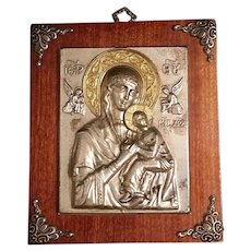 Greek Icon: Our Lady of Perpetual Help