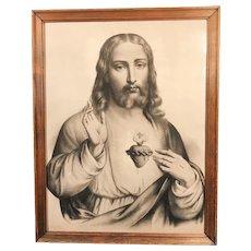 Sacred Heart of Jesus Print