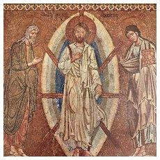 Vintage Icon of the Transfiguration