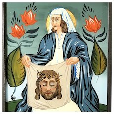 Saint Veronica's Veil Reverse Painting