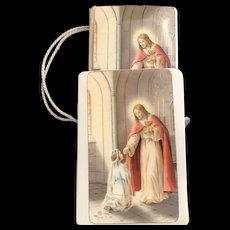1960 French Children's Missal with Carrying Case