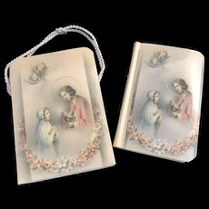 1952 French Children's Missal with Carrying Case