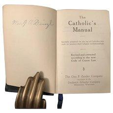 The Catholic's Manual, 1924