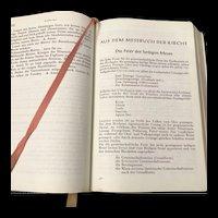 Vintage German Missal and Prayer Book