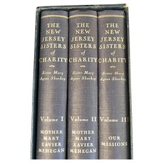 The New Jersey Sisters of Charity 1859 - 1933 Book Set