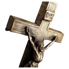 Elegant Tabletop Crucifix