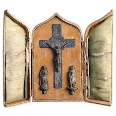 Crucifix Travel Altar
