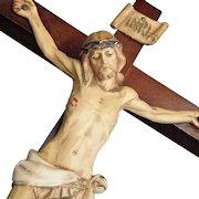 Vintage Wall Crucifix
