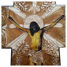 Vintage Mexican Crucifix