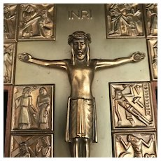 Wall Crucifix with Stations of the Cross