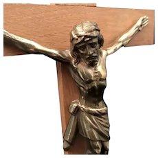 Vintage Home Altar Crucifix