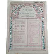 """Sheet Music for """"The Rosary"""""""