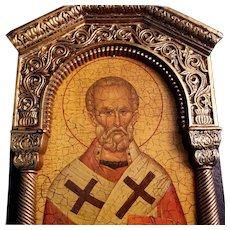 Florentine Saint Nicholas Icon